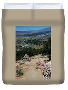 On The Road To Virginia City Nevada 15 Duvet Cover