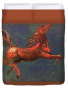 On The Run - Horse Duvet Cover