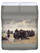 On The Shore Duvet Cover by Jacques Eugene Feyen