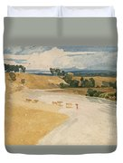 On The Tees At Rockcliffe Duvet Cover