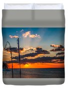 On The Water Front Duvet Cover