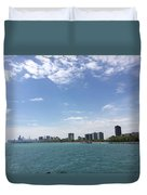 On The Water Duvet Cover