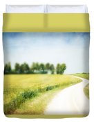 On The Way Through The Summer Duvet Cover