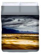 On The Way To Death Valley Duvet Cover