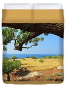 On The Way To Lapakahi Duvet Cover