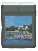 On The Way To St. John Duvet Cover