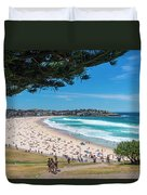 On The Way To The Beach. Duvet Cover