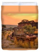 On The Way To Town Duvet Cover