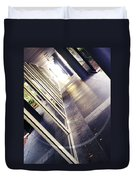 On The Way To Work Duvet Cover