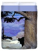 On The West Rim Of The Grand Canyon Duvet Cover