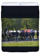 On Their Way To Rest Duvet Cover