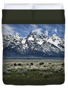 On To Greener Pastures Duvet Cover