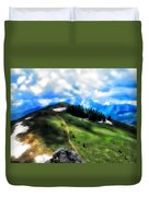 On Top Of The World  Duvet Cover