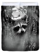 On Watch - Bw Duvet Cover