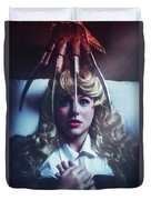 Once Upon A Nightmare Duvet Cover