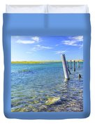 Once Upon A Pier Duvet Cover