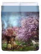 Once Upon A Springtime Duvet Cover