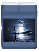 Once Upon In A Moonlit Night Duvet Cover