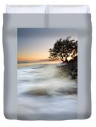 One Against The Tides Duvet Cover