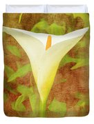 One Arum Lily Duvet Cover