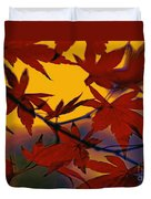 One Autumn Evening By Kaye Menner Duvet Cover
