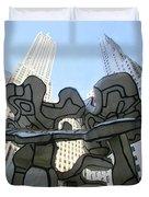 One Chase Manhattan Plaza 3 Duvet Cover