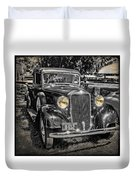 One Cool 1935 Dodge Pickup Duvet Cover