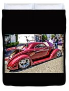 One Cool Car Duvet Cover