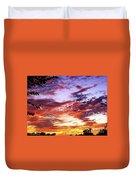 One Dawn Autumn Sky Duvet Cover
