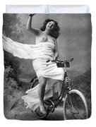 One For The Road, C1900 Duvet Cover