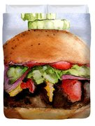 One Hearty Meal Duvet Cover