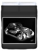 One Hot 1936 Chevrolet Coupe Duvet Cover