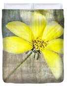 One Must Have Sunshine Freedom And A Little Flower Duvet Cover
