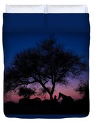 Evening In Rajasthan Duvet Cover