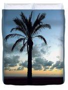 One Palm Duvet Cover