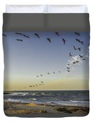 One Pelican Two Pelican Three Pelican Duvet Cover