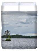 One Pine Island. Koirajarvi Duvet Cover