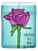 One Rose Everyday Duvet Cover