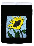 One Sunflower Duvet Cover