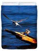 One Tern Flight Duvet Cover by Amanda Struz