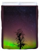 One Tree One Night On The Palouse Duvet Cover