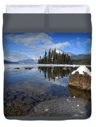 One Winters Morning Duvet Cover