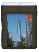 One World Trade Center 5 Duvet Cover