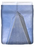 One World Trade Center New York City Duvet Cover