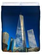 One World Trade Center Duvet Cover