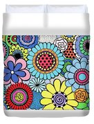 One Yellow Bloom Duvet Cover