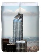 One57 And Park Hyatt Hotel In Nyc Duvet Cover