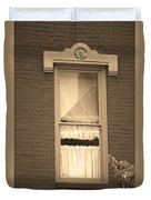Jonesborough Tennessee - One Window Duvet Cover