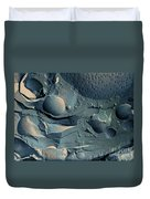 Onion Root Tip Cell, Freeze Fracture Tem Duvet Cover