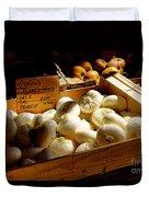 Onions Blancs Frais Duvet Cover